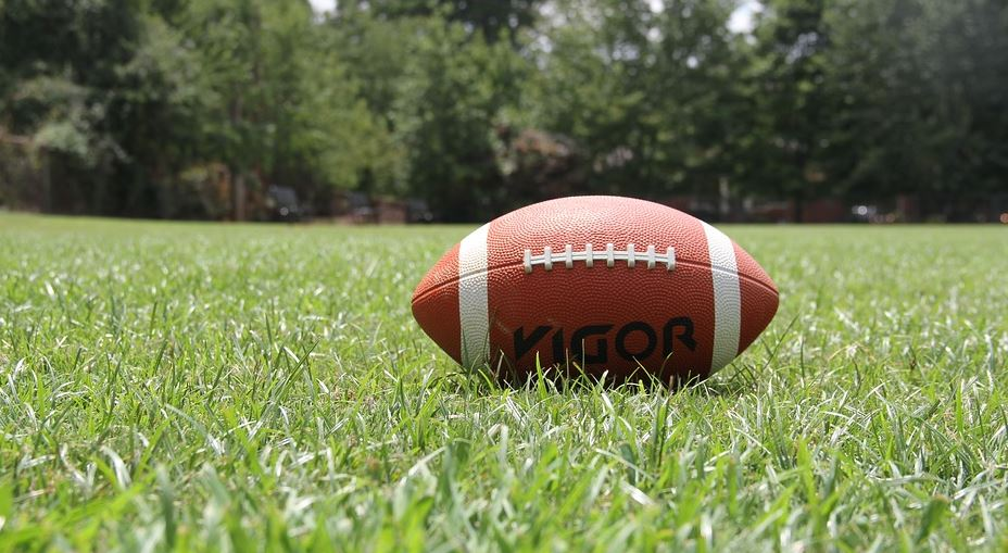 american football field equipment